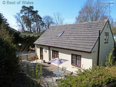 Mid Wales holiday cottage - games room & fishing lake on site