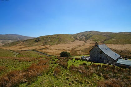Ty ar y Mynydd literally translates to House on the Mountain